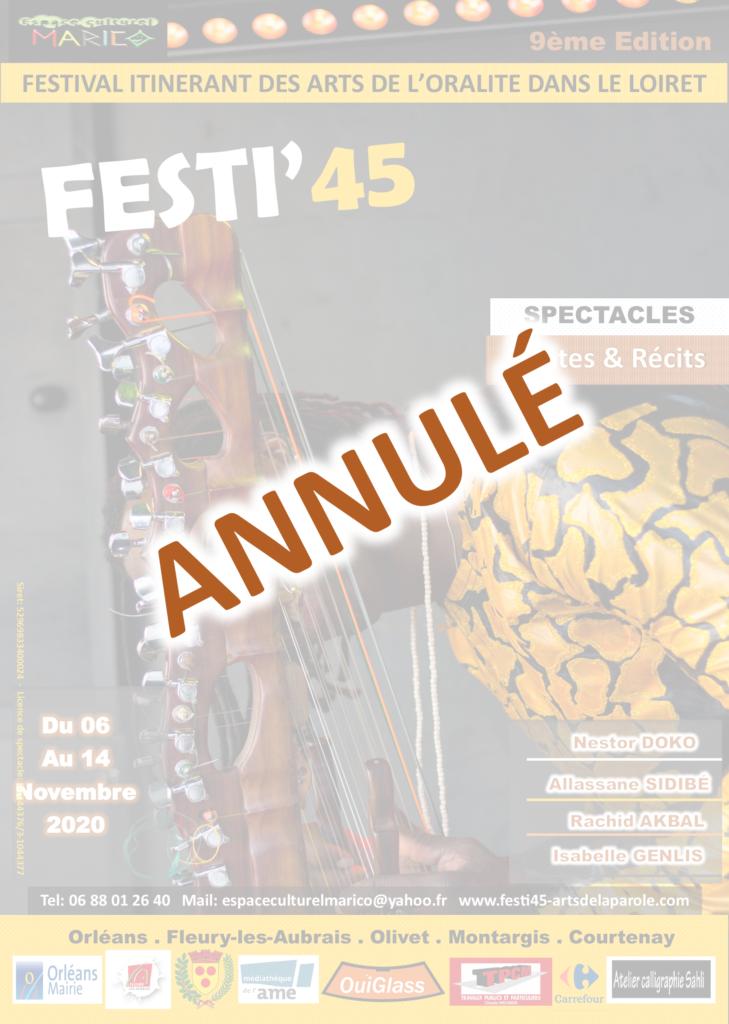 Annulation du Festi'45